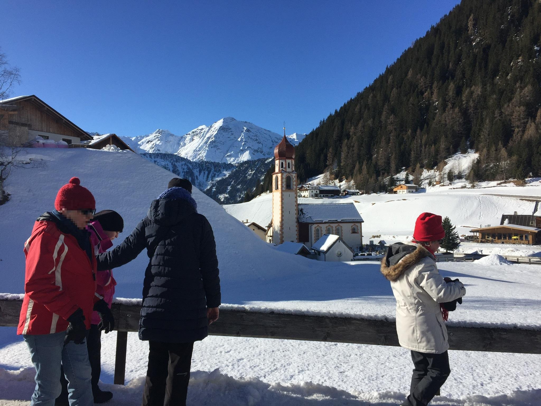 Oostenrijk Längenfeld (Tirol) Hotel Edelweiss Winterreis